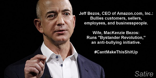 Jeff Bezos, the bully (satire)
