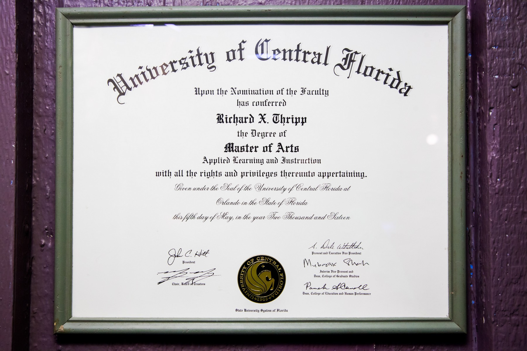 Reflections On Completing My Masters Degree Richard Thripps Website