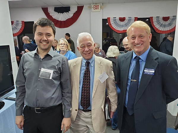 Richard Thripp, Paul, and Clint Curtis at recent meeting