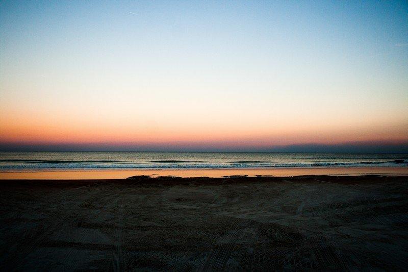 Crimson Beach Sunset