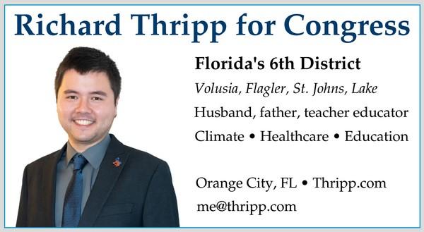 New Thripp business card, 1/29/2020