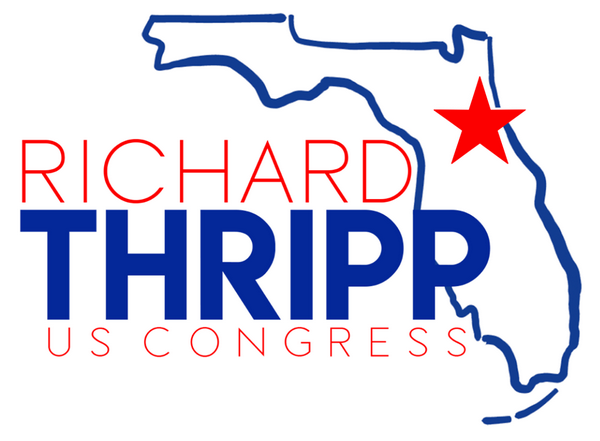 Richard Thripp logo, alternate version