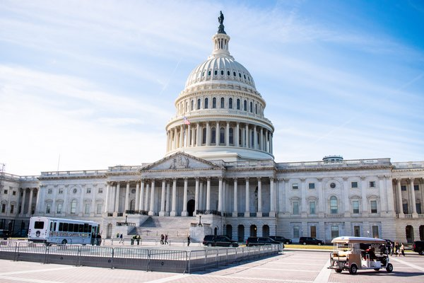 U.S. Capitol Scenic Photo