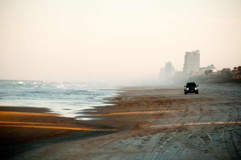 Photo: Beach Driving