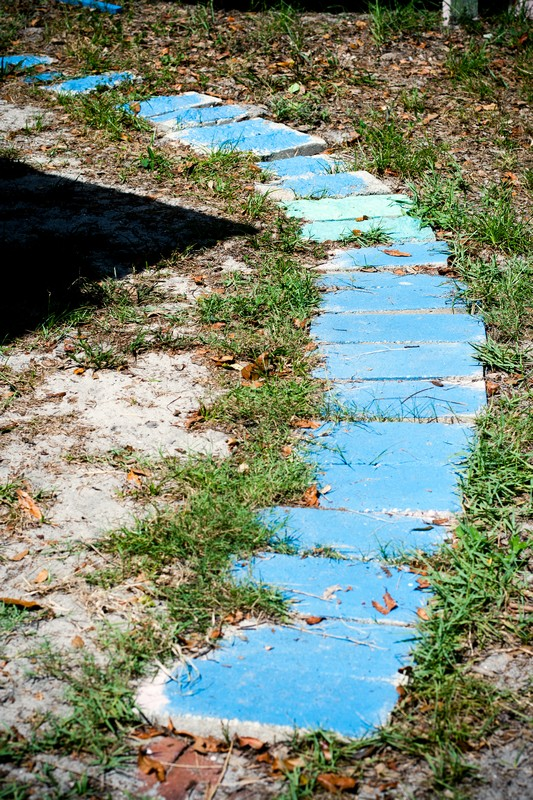 Photo: Blue Steps