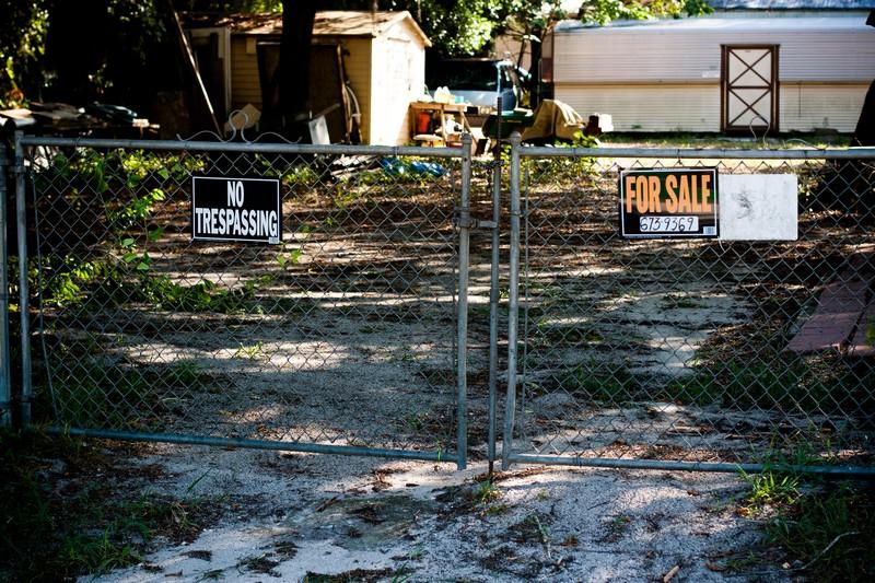 Photo: For Sale / No Trespassing