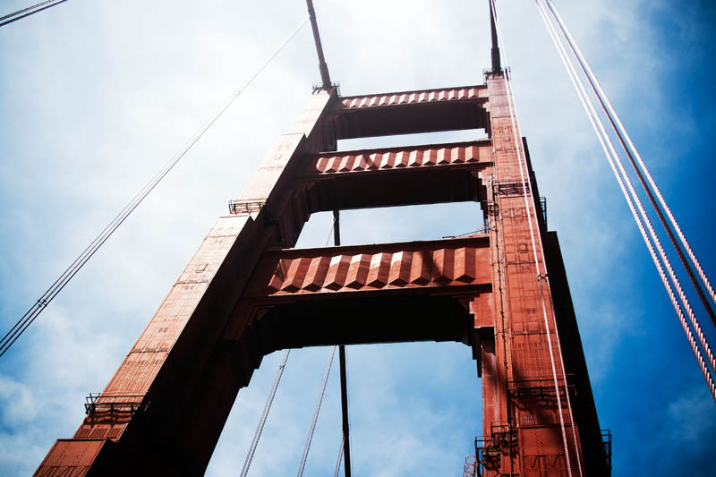 Photo: Golden Gate Bridge Tower