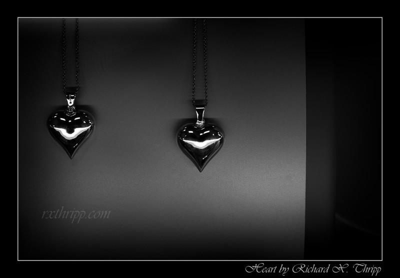 Heart — silver heart necklaces