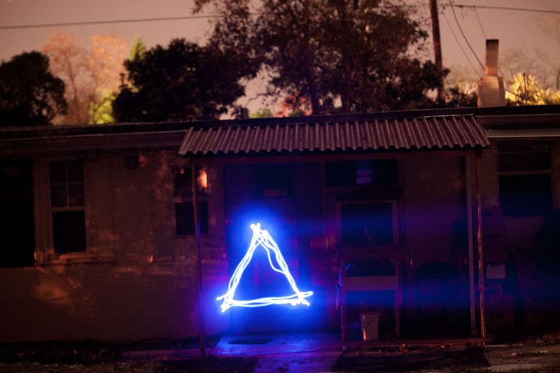 Photo: Laser Triangle