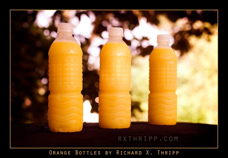 Orange Bottles