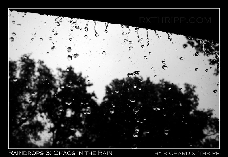 Raindrops 3 — a landscape of raindrops