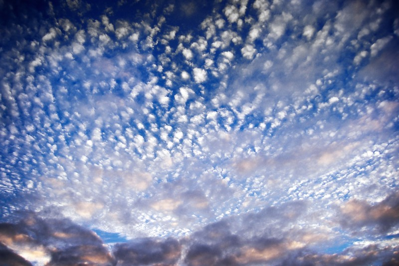 Photo: Speckled Clouds