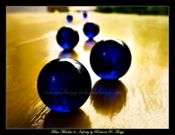 Blue Marbles 6