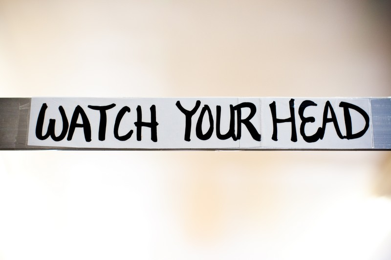 Photo: Watch Your Head