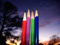 Sharpened Pencils 4